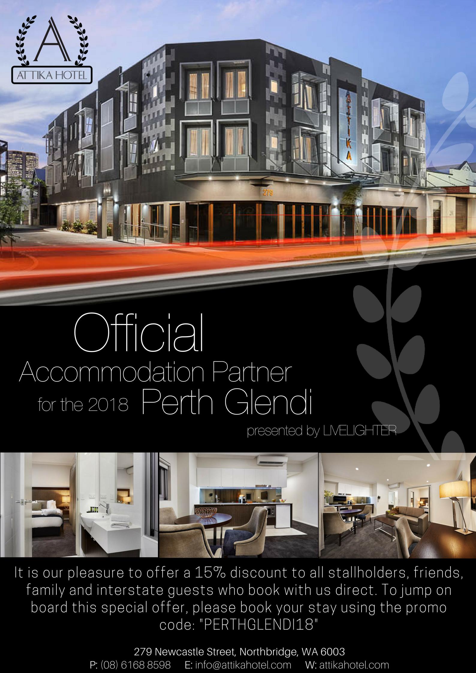 Attika Hotel Perth WA